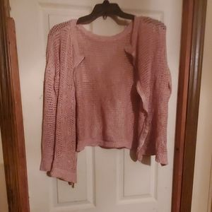 Cute sweater bolero